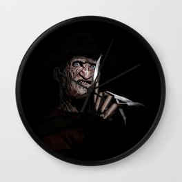 FREDDY KRUEGER! Wall Clock