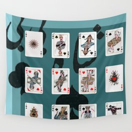 Persian Playing Cards Wall Tapestry
