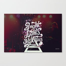 Bright Lights   30 Seconds To Mars Canvas Print