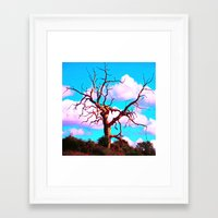 tree of life Framed Art Prints featuring TREE LIFE by SPACEZING