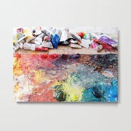 Artist's palette Metal Print