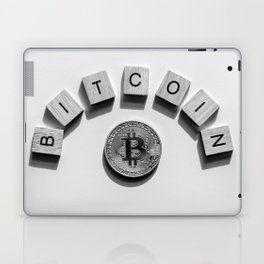 Bitcoin Cryptocurrency Laptop & iPad Skin