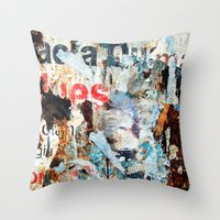 Vestiges II Throw Pillow