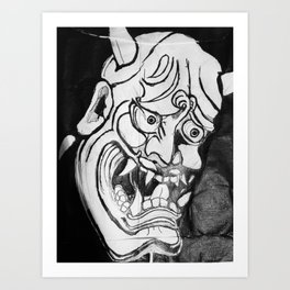Jmask Art Print