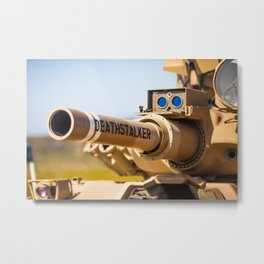 Death Stalker Tank Metal Print