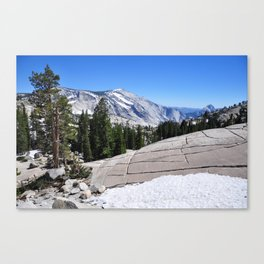 Olmsted Point, Tioga Pass, Yosemite National Park  Canvas Print