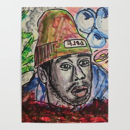 Flower Boy Tyler The Creator Wall Art Painting
