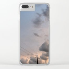 Passing Love Clear iPhone Case