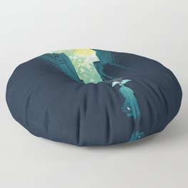 I Want My Blue Sky Floor Pillow