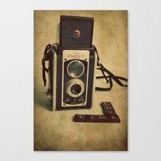 Time Love Canvas Print