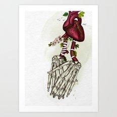 the power of love Art Print