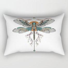 Dragon Fly Tattoo Rectangular Pillow