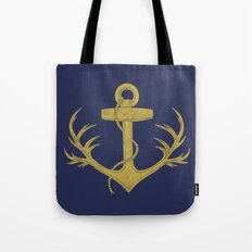 Antlered Anchor (option) Tote Bag