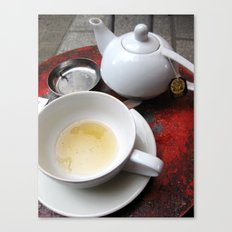 Paris Café Canvas Print