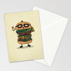 Geek Burger v.2 Stationery Cards