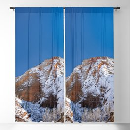 Zion Winter - 4536 Big_Bend_Viewpoint Blackout Curtain
