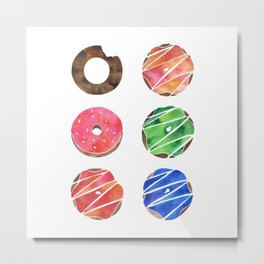The Donut Collection Metal Print