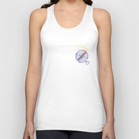 compass Tank Tops featuring compass by Belmonte Art