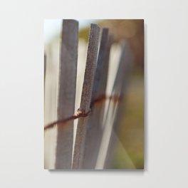 Picket Fence Metal Print