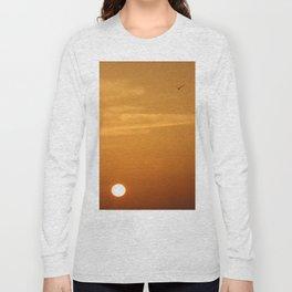 Bird at Sunrise Long Sleeve T-shirt
