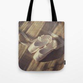 Ballet dance shoes Tote Bag
