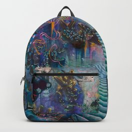 Mundus Est Fabula - The World is a Story Backpack