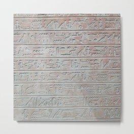 Gone Egyptian Metal Print