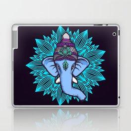 Wise Elephant Ganesha Mandala Laptop & iPad Skin