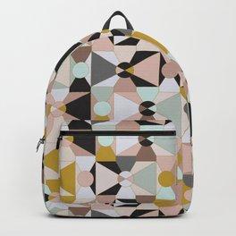 Abstract Modern Geometry / Winter Sunrise Backpack