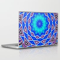 sacred geometry Laptop & iPad Skins featuring Sacred Geometry by Michael White
