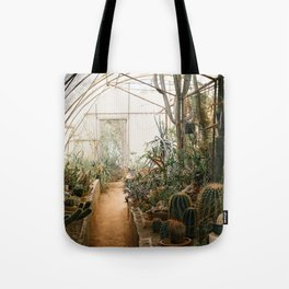 Desert Cactus and Succulent Garden, Palm Springs Tote Bag