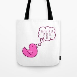 LA LA LA - WOMAN Tote Bag