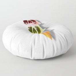 Skull Ice Cream Floor Pillow