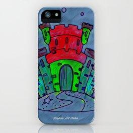 Mermaid Castle 21 iPhone Case