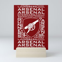 MixWords: Arsenal Mini Art Print