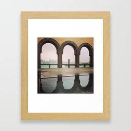 MIA Doha, Qatar Framed Art Print