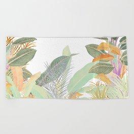 Native Jungle Beach Towel