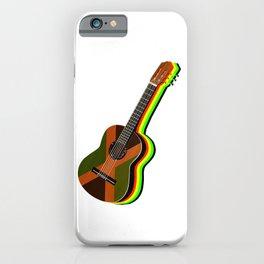 Reggae Guitar iPhone Case
