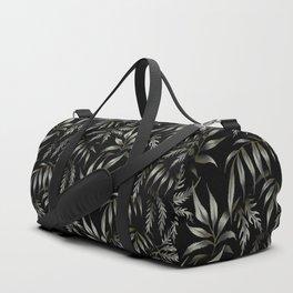 Brooklyn Forest - Black Duffle Bag
