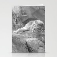 simba Stationery Cards featuring Simba by Jodisgoing180