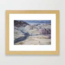 Little People, Big Places 2 (series of 4) Framed Art Print