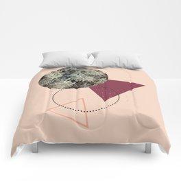Golden Snow #society6 #decor #pink Comforters