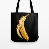 banana Tote Bags featuring Banana by Ken Coleman