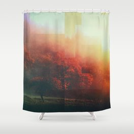 Fractions A94 Shower Curtain