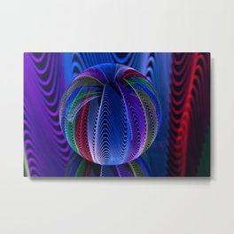 Many colours in the glass Metal Print
