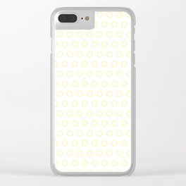 EMPTY DOT ((bumblebee)) Clear iPhone Case