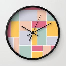Honest Composition Wall Clock