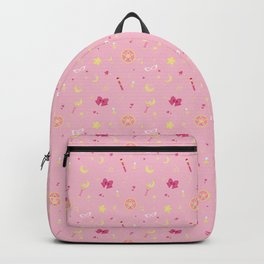 Sailor Moon Pattern Backpack