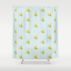 The heart that loves Shower Curtain
