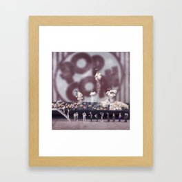 POPCORN Framed Art Print